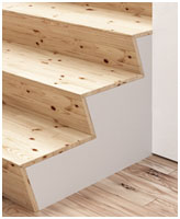 drawers staircase
